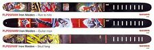 Perri's - Iron Maiden Real Leather Guitar Straps in a Choice of 3 Designs