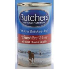 Butchers Beef & Liver Chunks In Jelly Wet Dog Food 400G 1200G