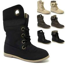 LADIES ANKLE PIXIE BOOTS WOMENS GIRLS SLOUCH FLAT BLACK SCHOOL BOOTS SHOES SIZE