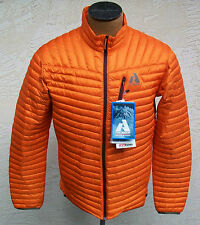 New Eddie Bauer First Ascent Men's Orange Microtherm Down Shirt Jacket Hunting