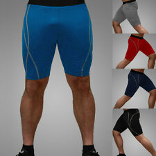 Mens Compression Under Base Layers Tights Shorts Skin Gear Sports Golf free ship