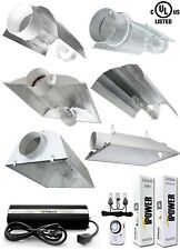 iPower 1000W 1000 Watt HPS MH Grow Light Kit Cooled Tube Wing Reflector Hood Set