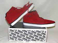Vans Off The Wall Shoes New OTW Collection Piercy Suede Red Wht Mid Choose Size