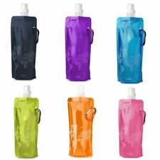 New Collapsible Foldable Drinks Water Bottle Gym Jogging Running Hiking Eco