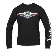 Kawasaki Vulcan Motorcycle Long Sleeve T-Shirt Black or White VN Nomad Vaquero