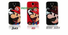 SB02 Mario Replacement Back Battery Cover PC Case For Samsung Galaxy S4 I9500