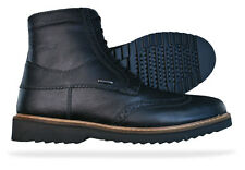 Geox Chester ABX Mens Tumbled Leather Boots / Shoes - Black - See Sizes