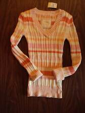 JUSTICE NWT  GIRLS SIZE 18  LS V NECK SWEATER  $32