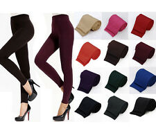 Womens Lady Warm Winter Skinny Slim Leggings Stretch Pants Thick Footless Tights