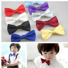 Several Colors Toddler Boy Bowtie For Party Photos Kids Baby Bow Ties Necktie