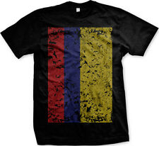 Colombia Colombian Flag Bandera Bold Soccer Futbol World Cup New Men's T-shirt