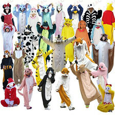 New Kigurumi Pajamas Anime Cosplay Costume unisex Adult Onesie Dress Sleepwear