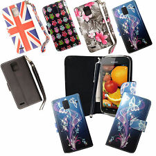 For Huawei Ascend P1 u9200 u9220 Printed Leather Book Wallet Case Cover+Stylus