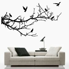 BIRD TREE wall art sticker birds branches decal stickers family bedroom vinyl