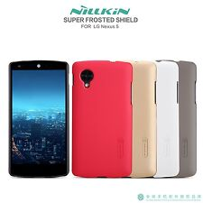 Nillkin Frsoted Matte Back Hard Cover Case + LCD Screen Protector For LG Nexus 5