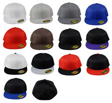 210 Flexfit Fitted Flat Bill Premium Fitted Cap Flexfit Tech 13 Colors 2 Size