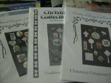 Christmas Ornament Collection #1, #2 OR #3- Various Needlework Styles- Canada