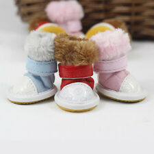 *Hot* Color Cotton Snow Boots Shoes Cold Winter Warm For Dog Puppy Pet