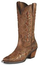 Ariat Womens Dandy Cowboy Western Boots Sassy Brown 10007964