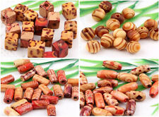 Wholesale 100Pcs Mixed Wood Loose Spacer Charm Bead 4Style Optional