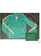 Abercrombie & Fitch Moose Logo Green Track Jacket  NWT