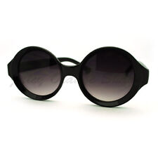 Unique Carved in Circle Round Frame Sunglasses Womens Fashion