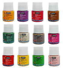 Pebeo Deco Decorative Acrylic Paint Matt Colours 45ml Pots | 50 Colours