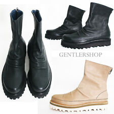 Avant Garde Mens Fashion Handmade Shoes Leather Shirring Boots 3961, GENTLERSHOP