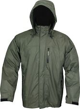 Jack Pyke Technical Featherlite Shooting Jacket Green Hunting Waterproof Coat