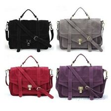 NEW Women Vintage Shoulder Messenger Body Satchel Bag Handbag Totes 5colors