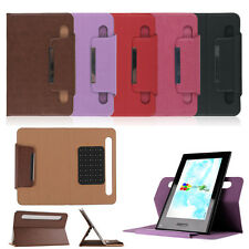 """Universal Sucker PU Leather Folio Case Cover Stand for 7"""" Android Tablet PDA DX2"""