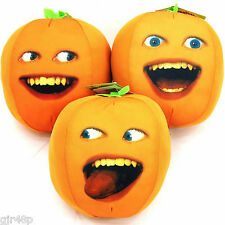 """The Annoying Orange 6"""" Inch Talking Soft Toy Choice Of 3 Design Or Set Of All 3"""