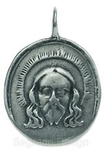 VERONICA'S VEIL / MADONNA AND CHILD Medal, silver, cast from 17th c. original