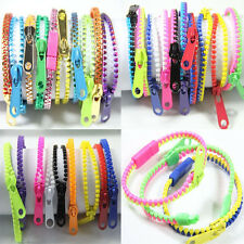 5PCS Zipper Bracelet Fidget Toy Kids Children Sensory Focus Toys Stress Relief