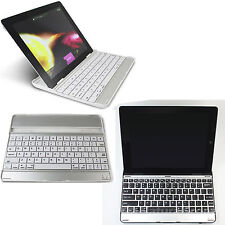 For New Apple iPad 3rd 4th 2nd Aluminum Wireless Bluetooth Keyboard KB W/Dock