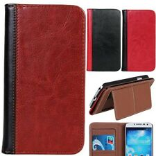 HOT ID CARD Stand Leather Flip Cover Case For Samsung Galaxy S4 i9500 MINI i9190