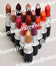 MAC AMPLIFIED CREME Lipstick Choose From 20 Color Full Size New in Box Authentic