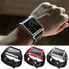 Aluminum Multi-Touch Watch Band Kit Wrist Strap Bracelet For iPod Nano 6 6th