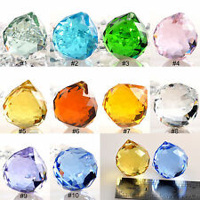 Wholesale 10pc Lots Crystal Ball Pendant 30mm Suncatcher Lamp Wedding Pendants