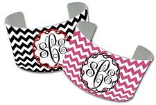 CUSTOM CUFF BRACELET-MONOGRAMMED CHEVRONS- PERSONALIZED WITH MONOGRAM