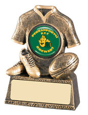 Rugby Trophy Award - Rugby Shirt - Free Engraving