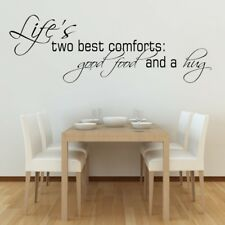 KITCHEN FOOD wall art quote home beer wine cafe friends cook decal vinyl sticker