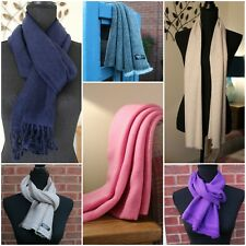Soft and Warm Pure Cashmere Scarf Scarves Hand-loom L