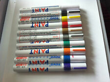 WHITE ONLY PAINT PEN MARKERS CAR PARTS MOTOR TRADE SCRAP TYRES & METAL WHEEL UK