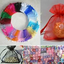25 pcs New Organza Jewelry Wedding Favor Gift Pouch Bags 7*9cm 2.7*3.5""