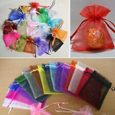 12 pcs New Organza Jewelry Wedding Favor Gift Pouch Bags 7*9cm 2.7*3.5""