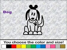 Disney Dog Pet Animal Family Sticker Vinyl Decal Car Stick People Mickey Ear