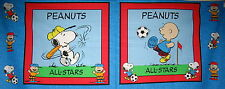 Choose Design** Snoopy Charlie Brown cotton quilting fabric design **size