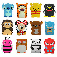 Cartoon Animals Cute Soft Silicone Rubber Tpu Gel Case Cover For iPad Mini New