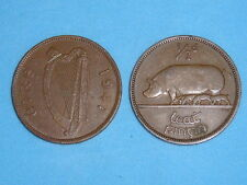 IRELAND HALF PENNY SOW & PIGLETS 1928-1967 ALL DATES ONLY 99p EACH FREE UK P&P